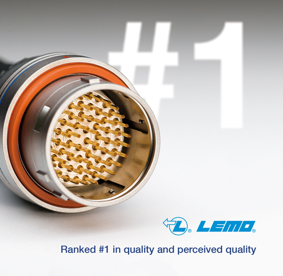LEMO ranked number one in quality and perceived quality