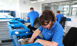 media converter assembly line