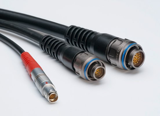 Cable Assemblies Lemo Connectors Push Pull Circular