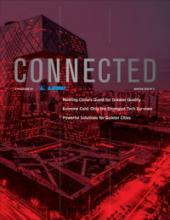 connected 5 magazine cover