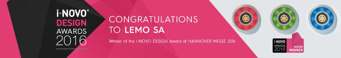 lemo halo led wins inovo awards
